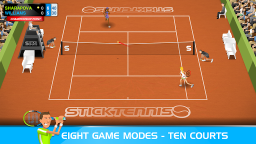 Stick Tennis  screenshots 3