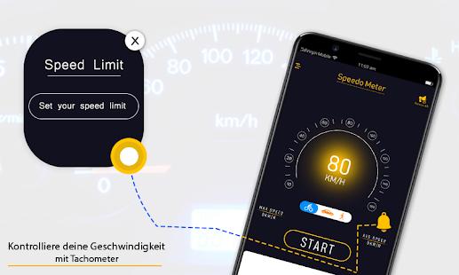 Gps Entfernungsmesser App : Gps tachometer digital frei hud anzeige kilometer u apps bei