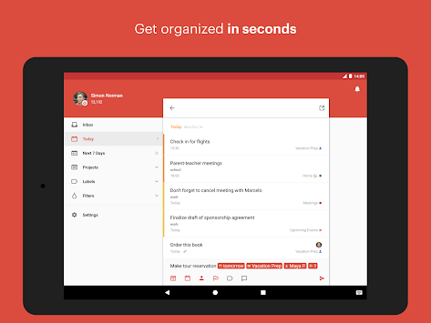 Todoist: To-do-liste APK screenshot thumbnail 6