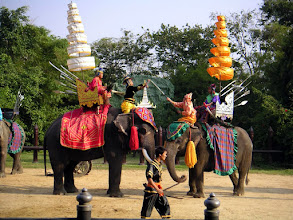 Photo: Elephant Show