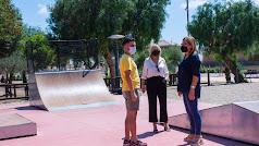Inauguración de la nueva pista de Skate en Níjar.