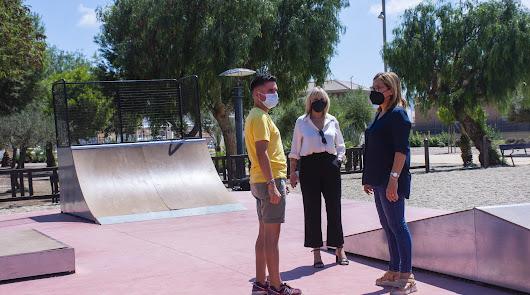 Níjar añade una pista de Skate a las infraestructuras deportivas municipales