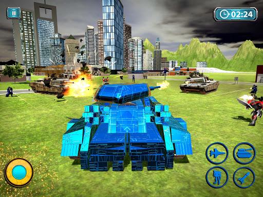 Transform Robot Action Game filehippodl screenshot 8