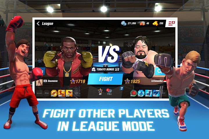 Boxing Star Android App Screenshot