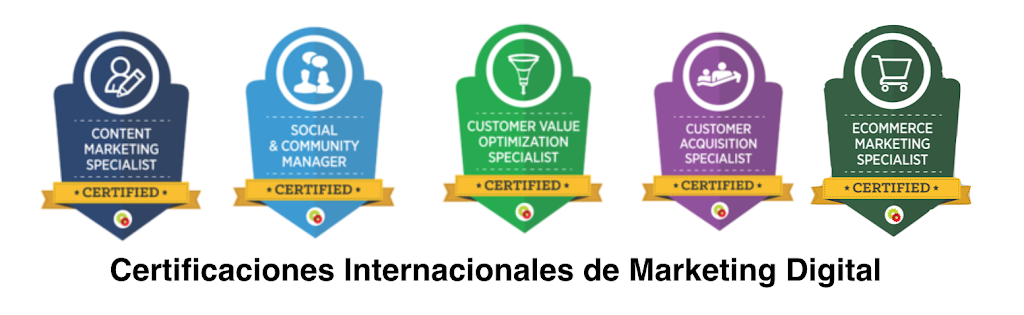 Certificaciones internacionales en marketing digital