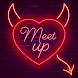 Meet up - Live chat.