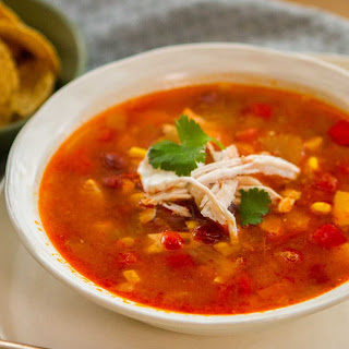 Spicy Mexican Style Chicken Soup Recipe