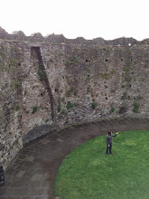 Photo: Small Ryan at Cardiff Castle