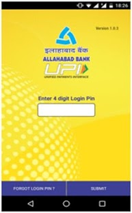Allahabad Bank UPI- screenshot thumbnail