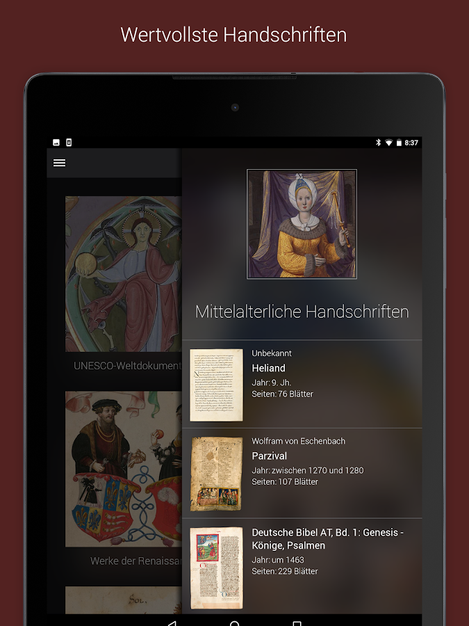 Famous Books – Screenshot