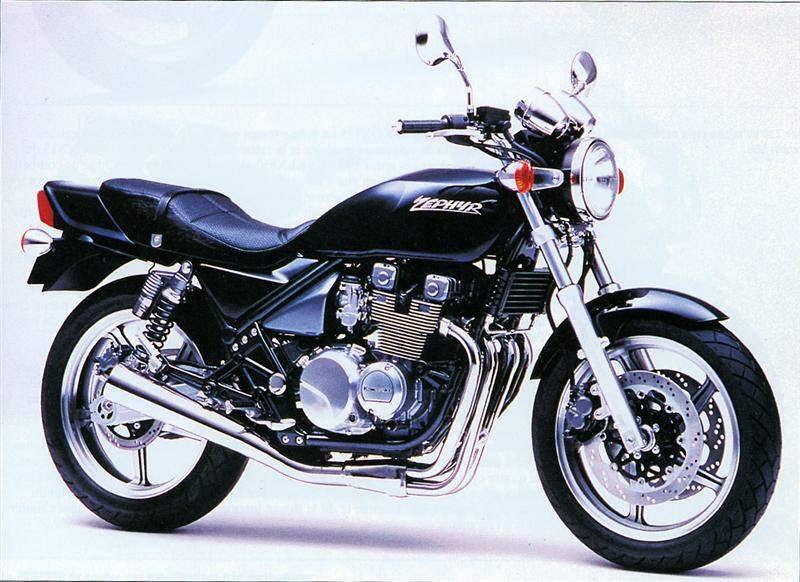 Kawasaki ZR 550 Zephyr-manual-taller-despiece-mecanica