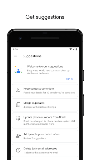 Contacts 3.1.6.218196352 screenshots 5