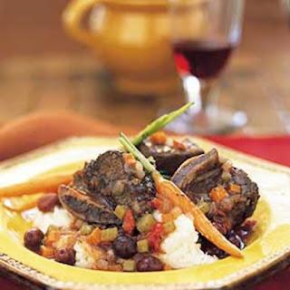Short Ribs Provençale with Crème Fraîche Mashed Potatoes