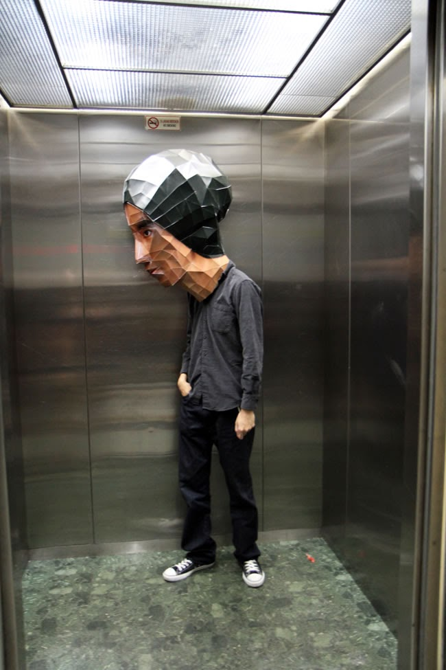 I bet no one step in the lift