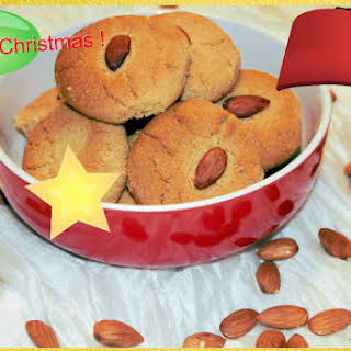 Christmas Baking- Indian NanKhatai Biscuits.