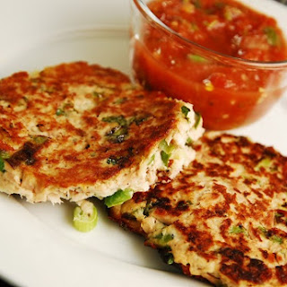 Pan Seared Tuna Patties.