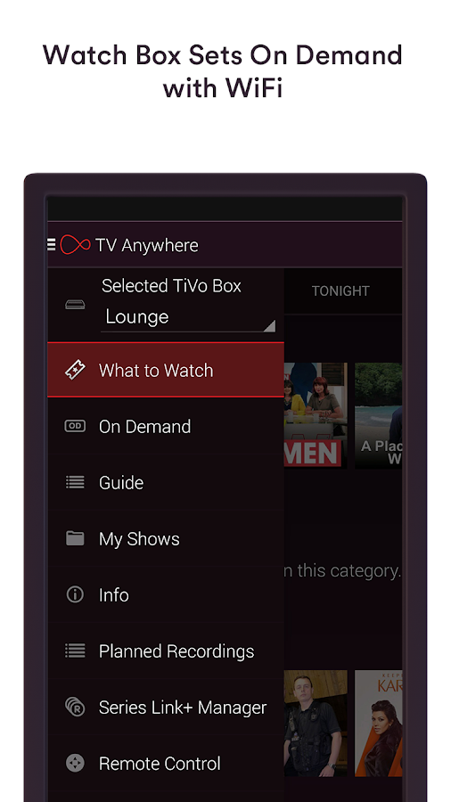 Virgin TV Anywhere- screenshot