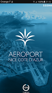 Aéroport Nice Capture d'écran