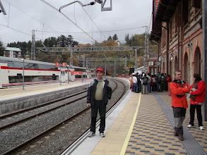 Photo: Esperando el tren