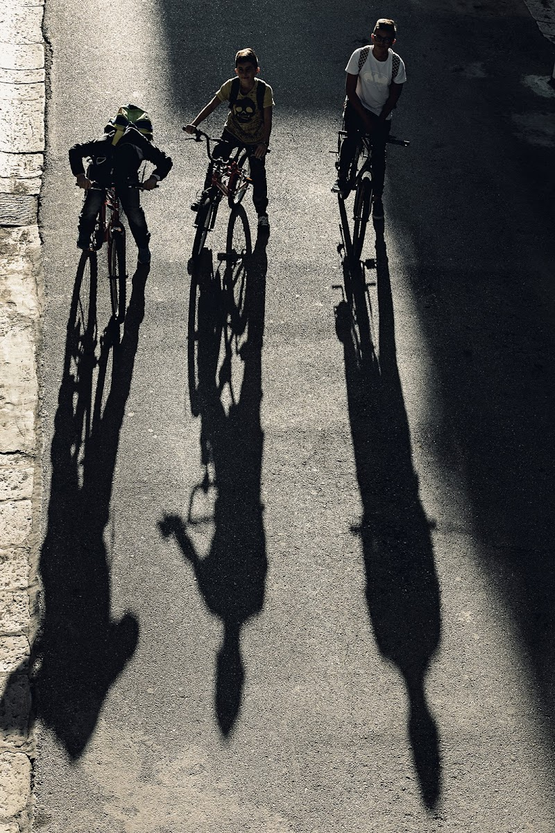 In bici... di prometeo
