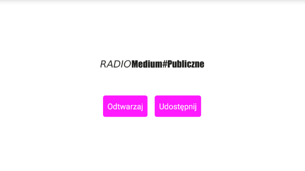 Radio #MediumPubliczne- screenshot