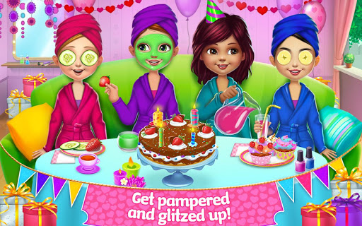 Spa Birthday Party screenshot