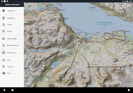 Sweden Topo Maps Android Apps On Google Play - Google topographic maps online