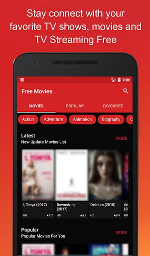 HD Movies Online - Hot Movies for PC
