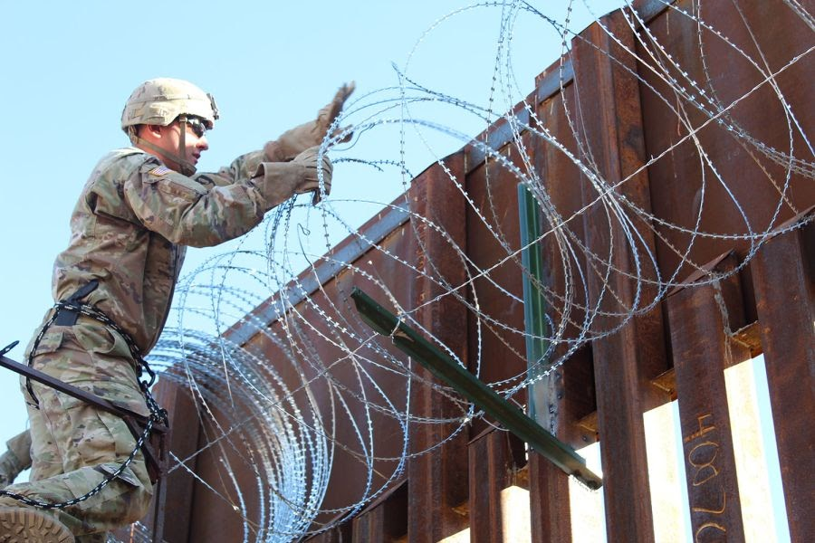 Homeland Security asks Defense to send more troops to US border to build 160 miles of fencing
