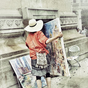 Street art by Lisa Ehrlich - Instagram & Mobile iPhone