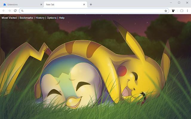 Pokemon Wallpapers HD New Tab Theme