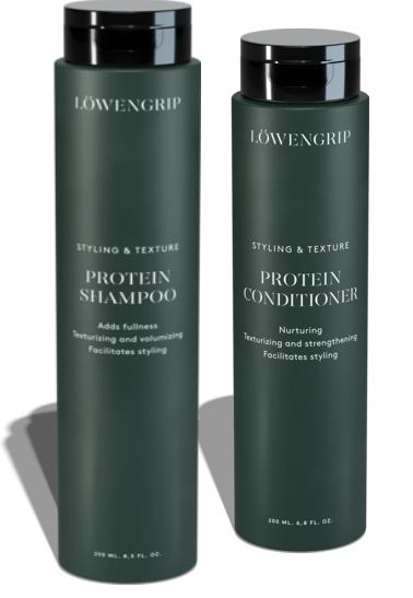 Produktrecension – Löwengrip Protein shampoo + balsam