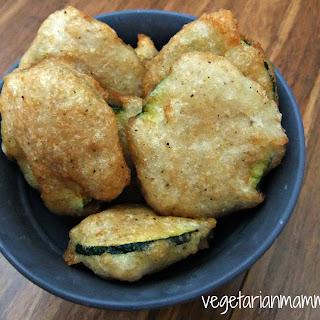 Tempura Style Zucchini – #glutenfree #vegan
