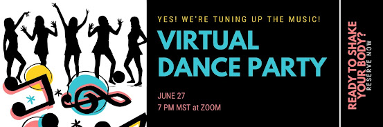 Q-sunshine... Virtual Dance Party!