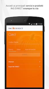 ING DIRECT Italia - screenshot thumbnail