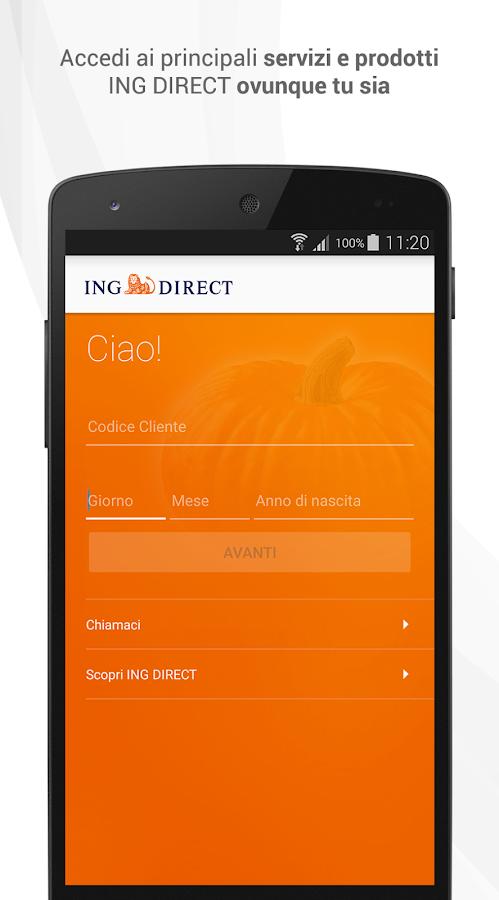 ING DIRECT Italia - screenshot
