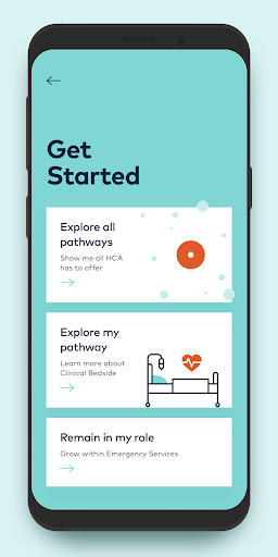 Screenshot for HCA Inspire in United States Play Store