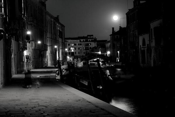 Cannaregio by night di Andrea F