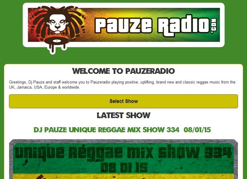 Pauzeradio- screenshot