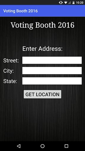 Voting Booth 2016 Screenshot