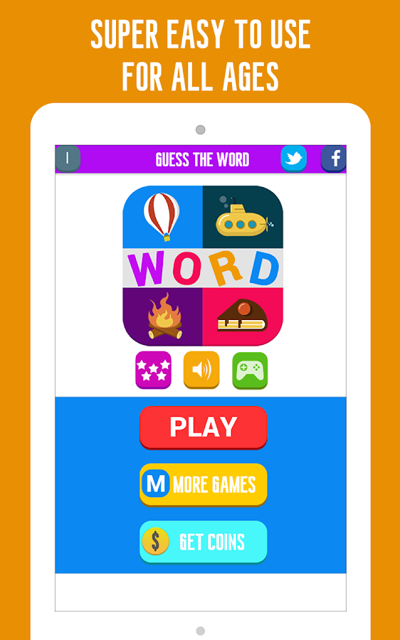 Guess the Word: 4 Pics Quiz- screenshot