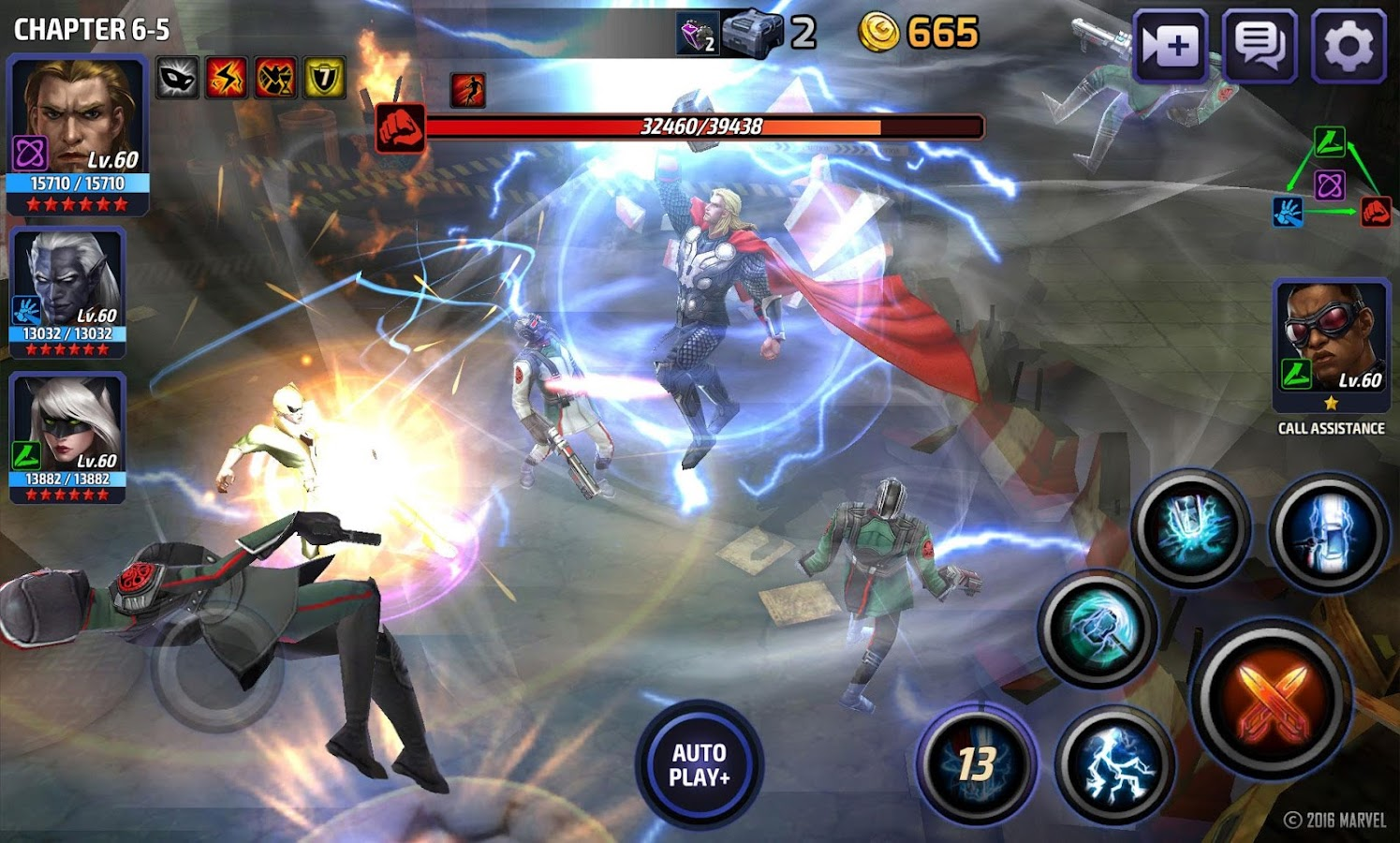 MARVEL Future Fight cheats