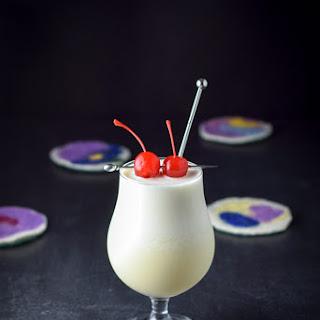 Tasty Tropical Pina Colada Cocktail.