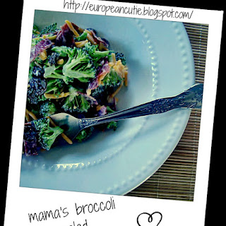 Mama's Broccoli Salad ♥.