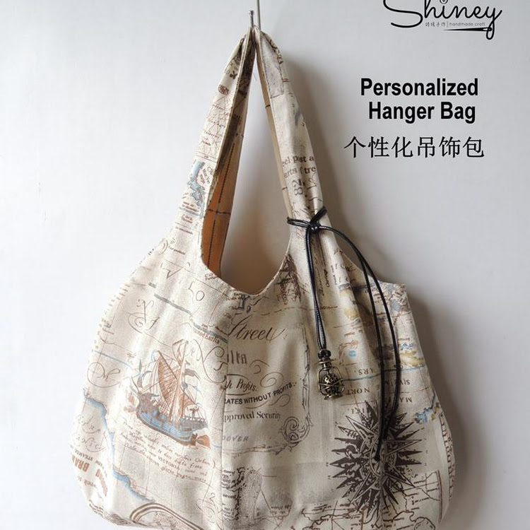 Handmade Personalized Hanger Bag by Shiney Craft & Zakka 诗绫手作