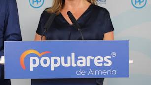 Rosalía Espinosa, parlamentaria andaluza del PP.