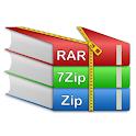 Rar Extractor for Android: Zip Reader, RAR Opener icon