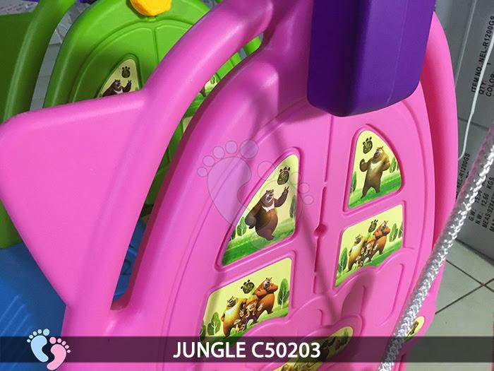 Cầu trượt cho bé 3 in 1 Jungle C50203 6