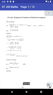 Download IIT JEE MAIN ADVANCED MATHS CHAPTER WISE PAPERS For PC Windows and Mac apk screenshot 12