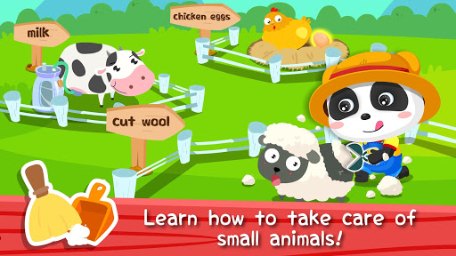 Baby Panda's Farm - Kids' farmville screenshot 2